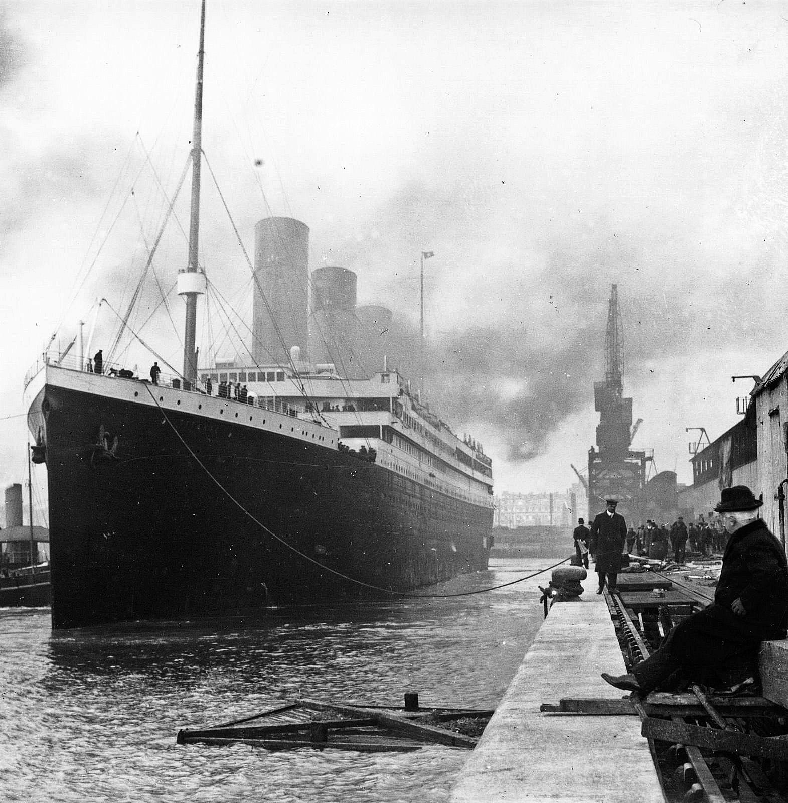 visitare il relitto del titanic 1