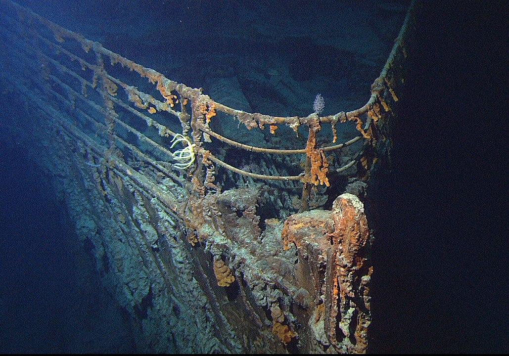 visitare il relitto del titanic 3