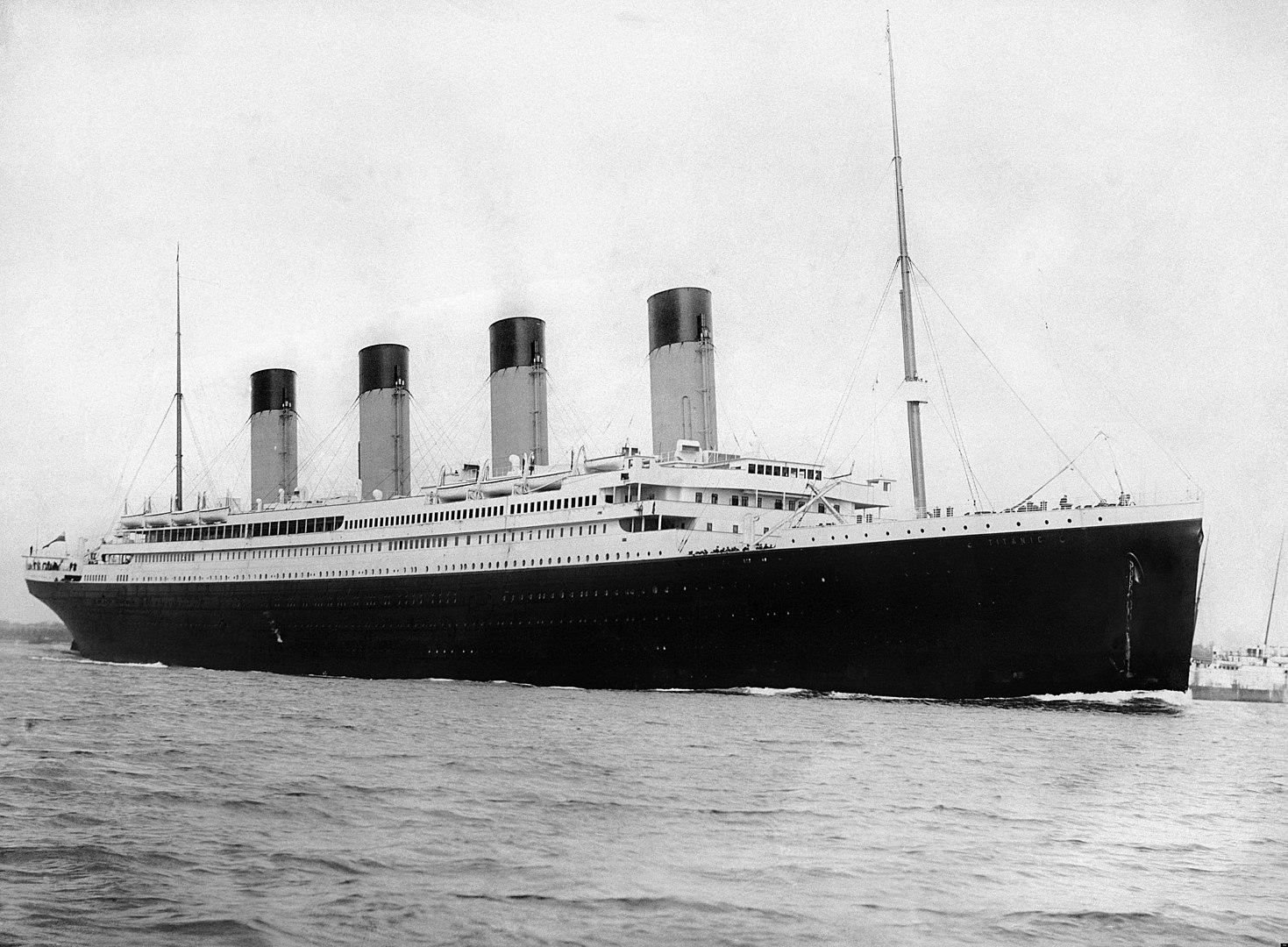 visitare il relitto del titanic