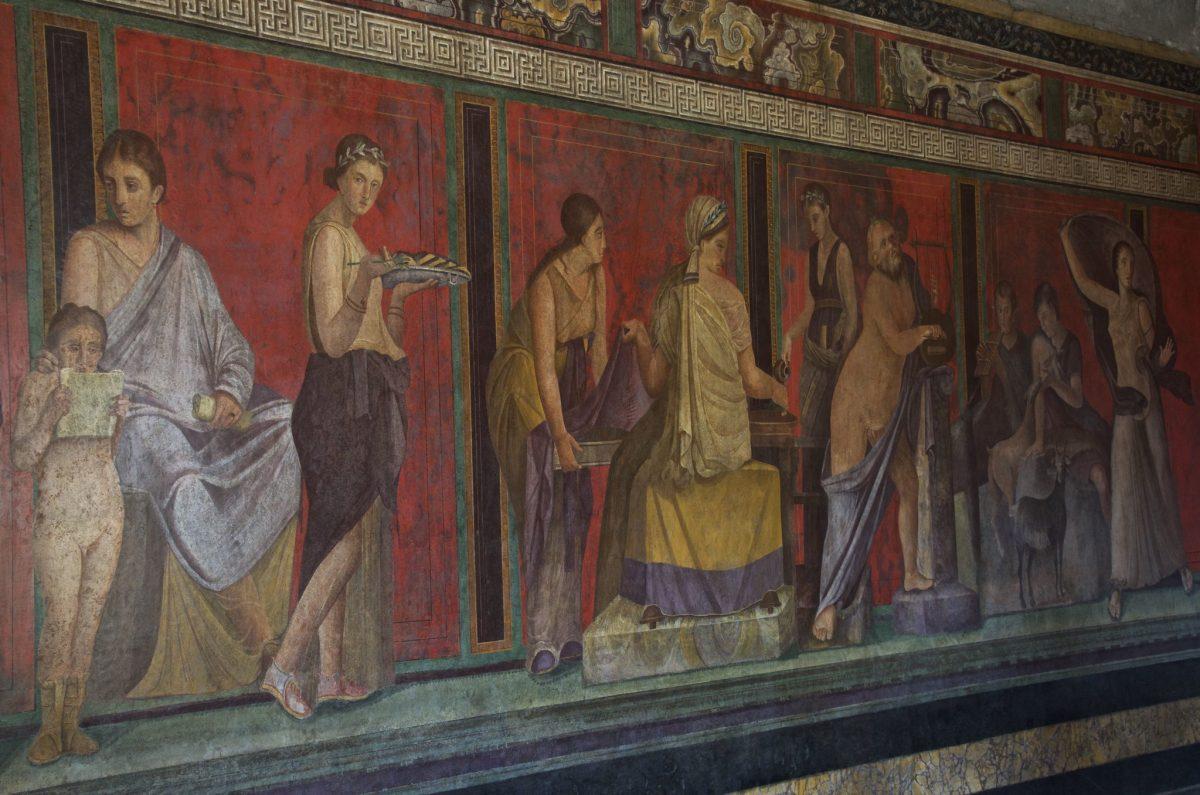 sala misteri pompei