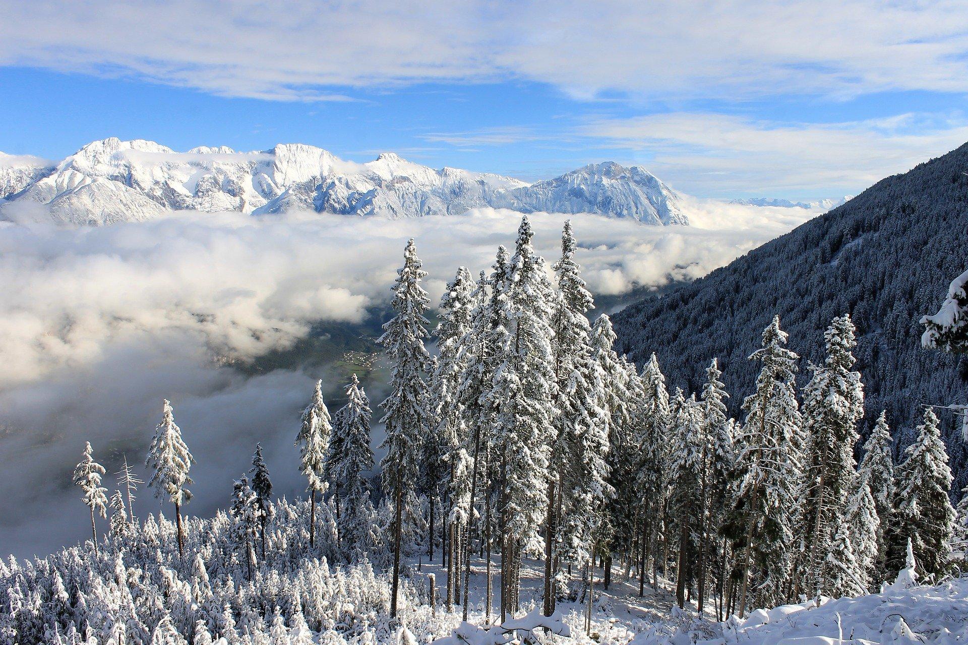 alto adige escursioni invernali