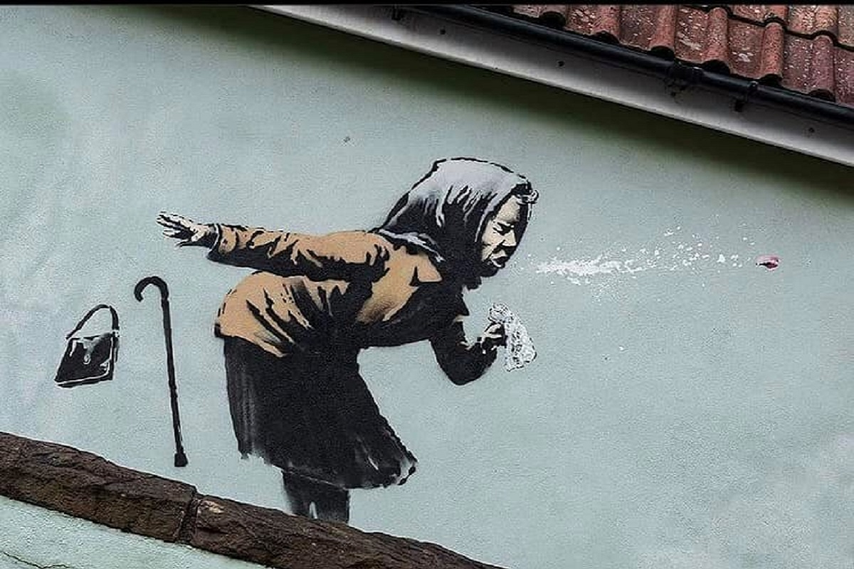 Banksy ultima opera Covid