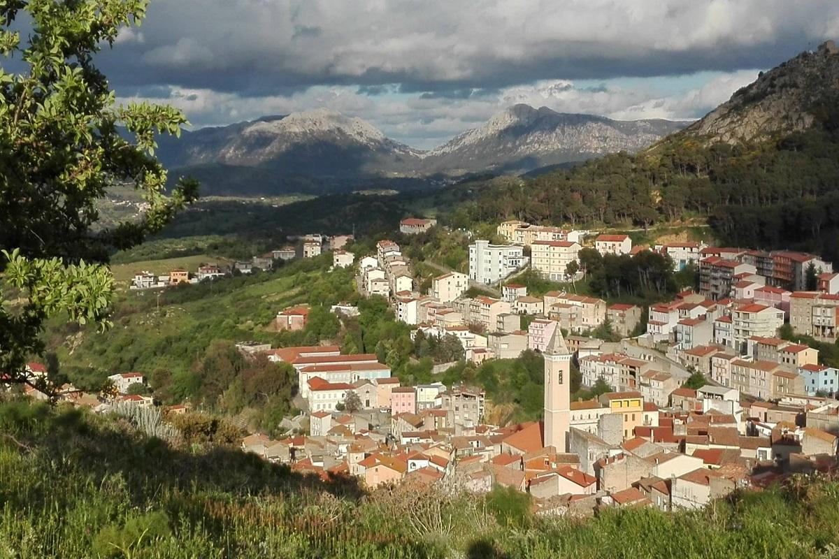 Bitti dove si trova in Sardegna