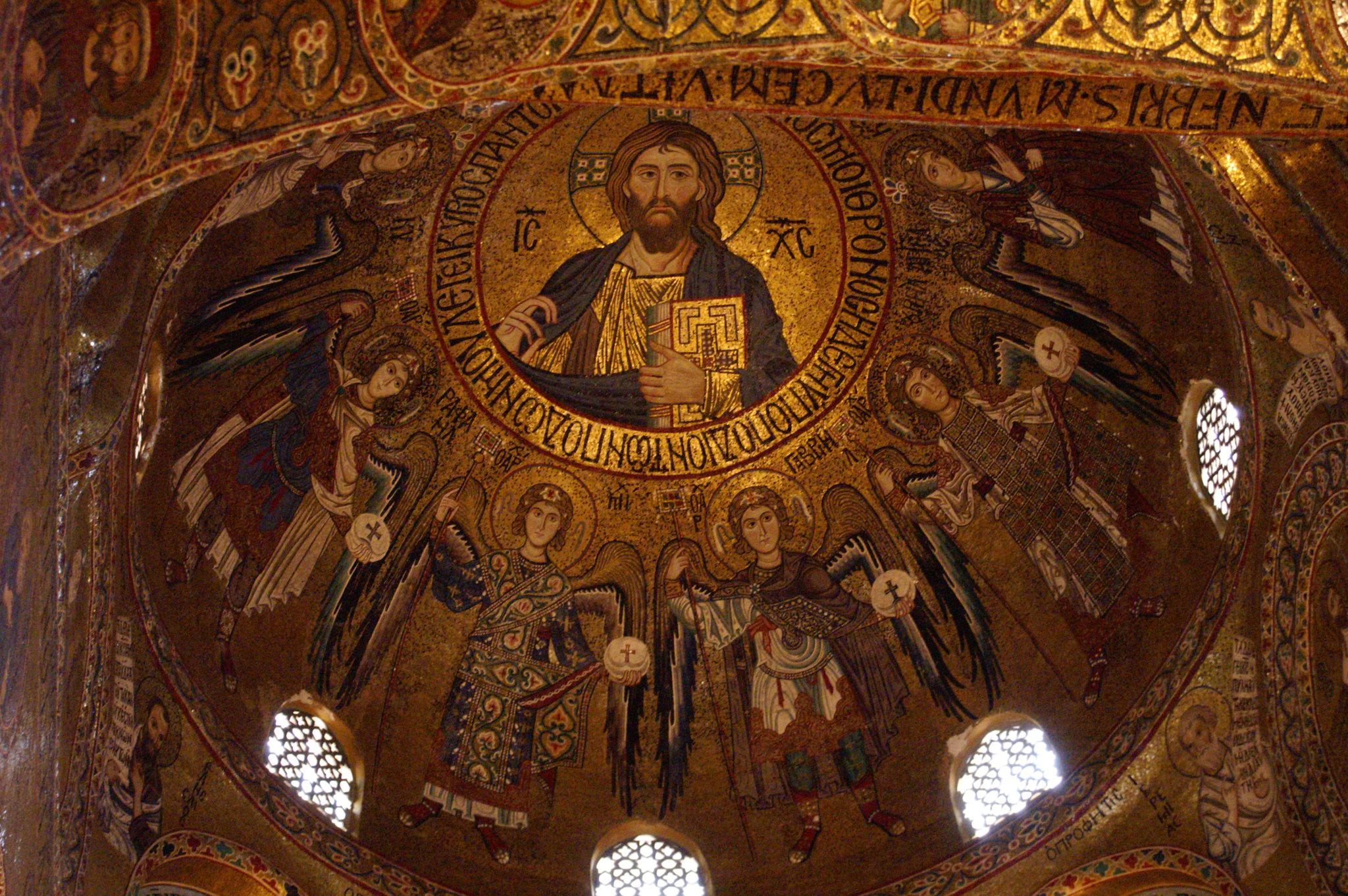 cappella palatina palermo mosaici
