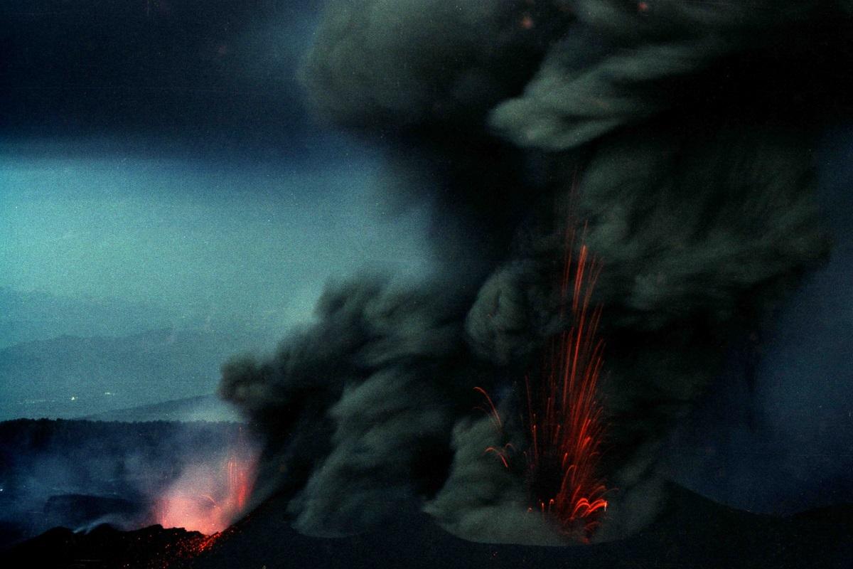 Etna eruzioni recenti