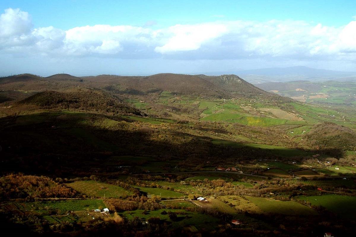 Monti della Tolfa cosa vedere