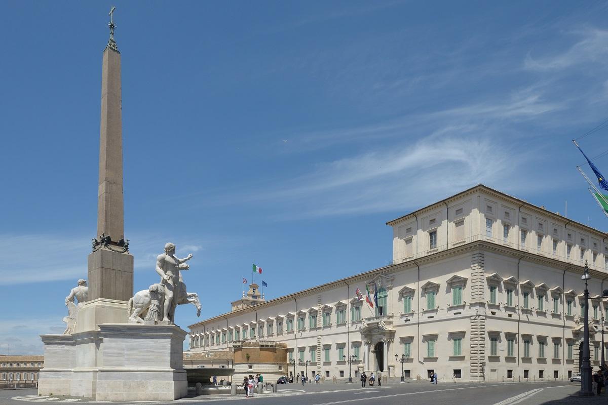 Palazzo del Quirinale storia