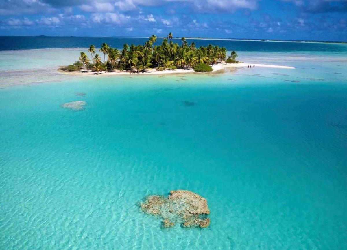 rangiroa polinesia laguna blu
