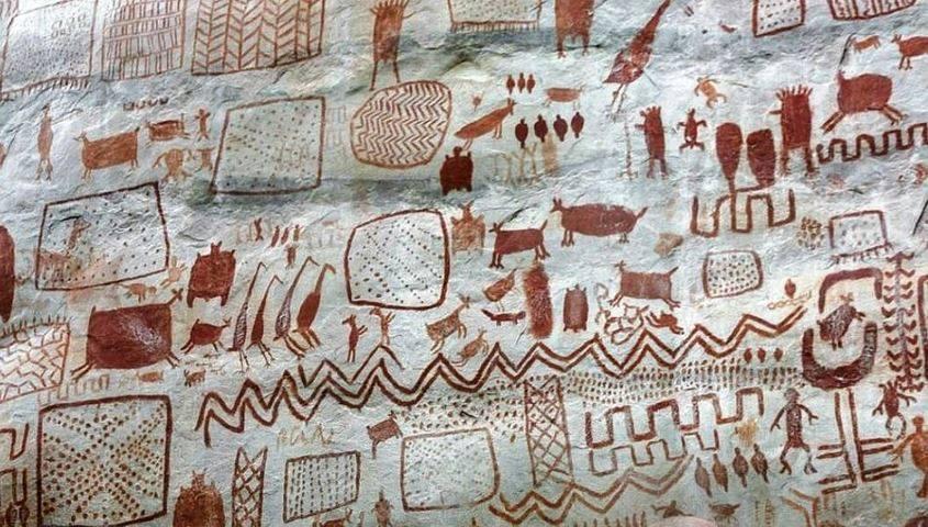 dipinti rupestri
