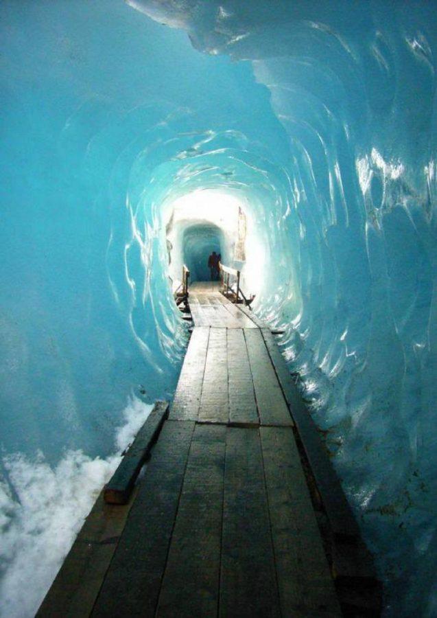 grotta ghiacciaio del rodano