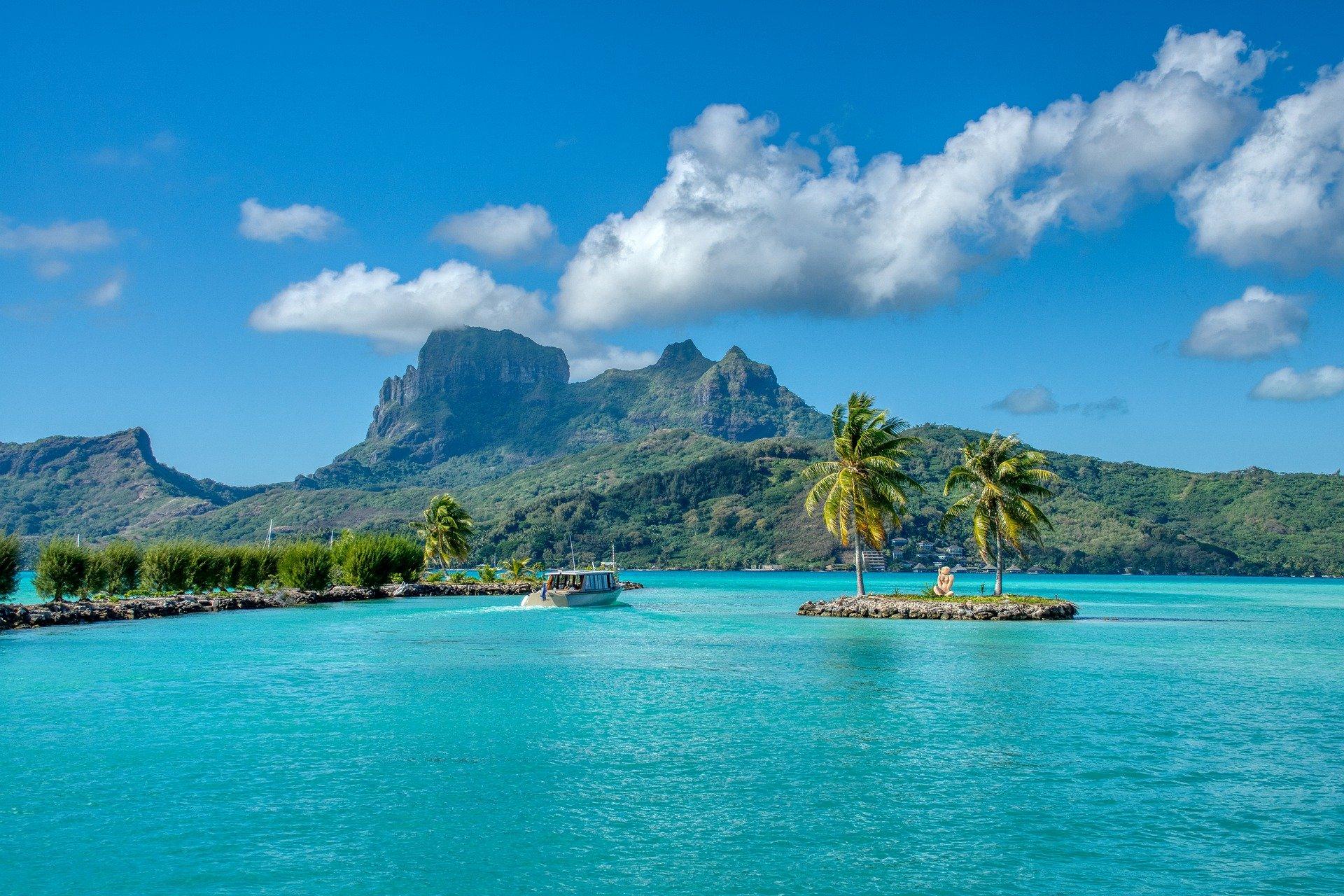 isole vicino tahiti