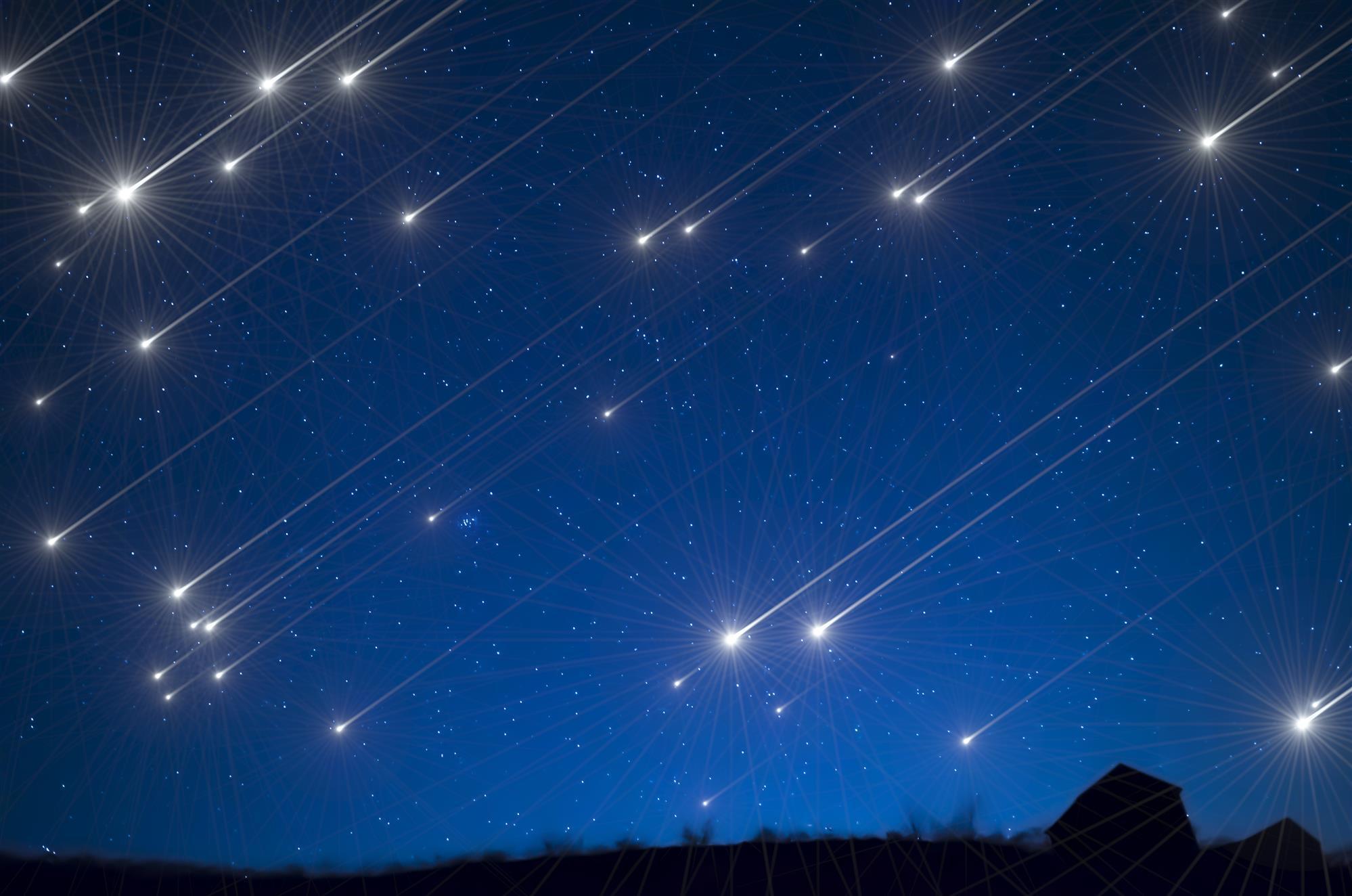 meteore quadrantidi cina