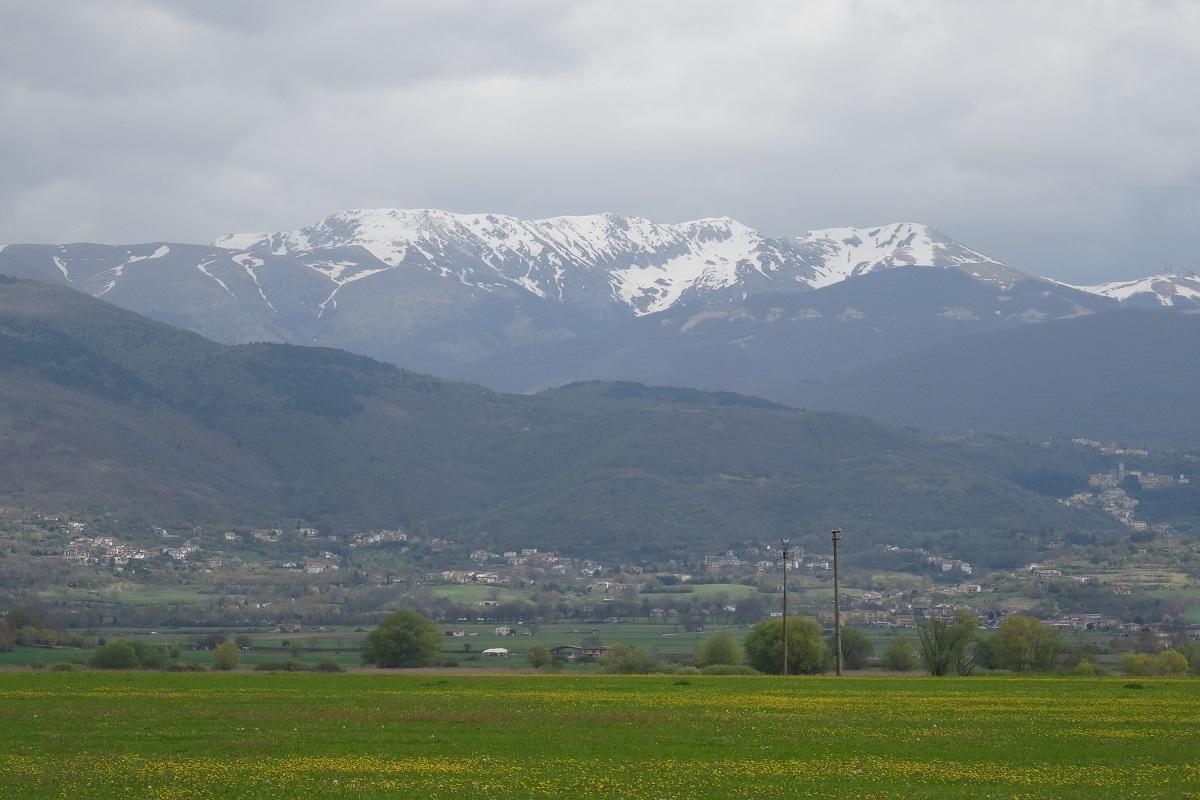 Monte Terminillo dove si trova