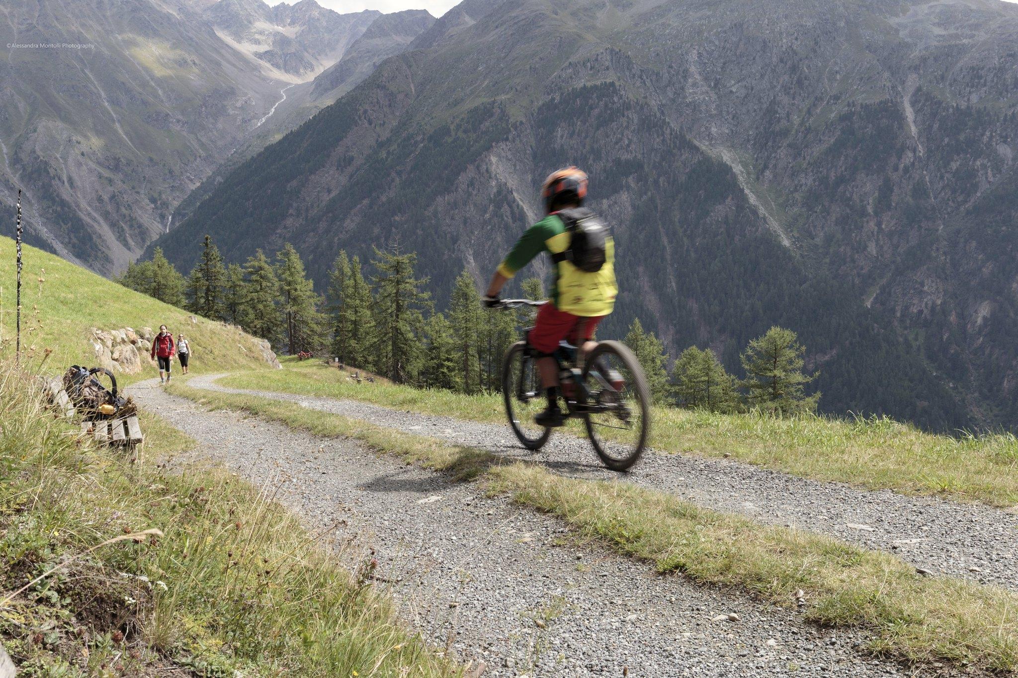 piste ciclabili austria con bambini