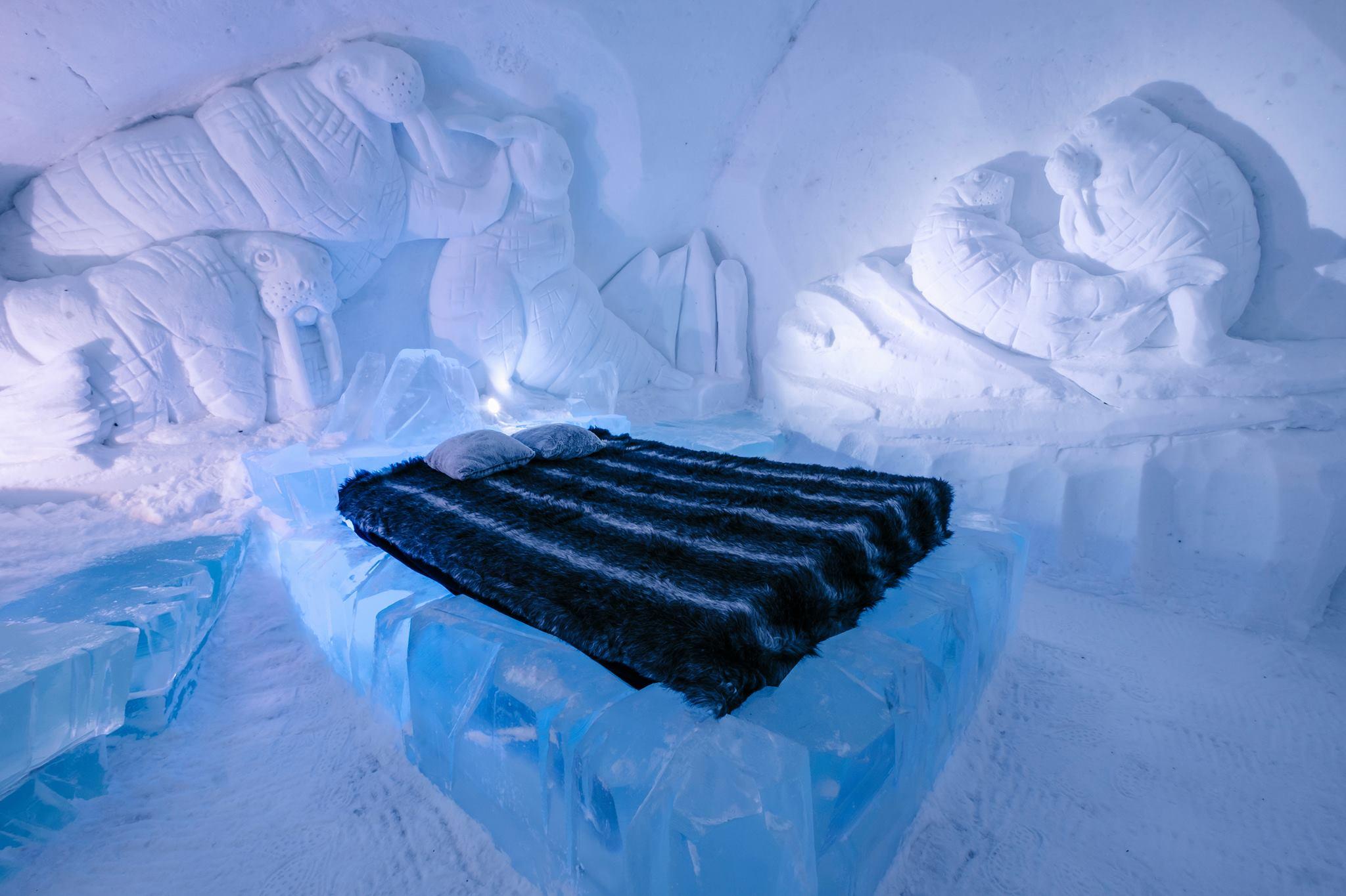 hotel de glace canada virtual tour