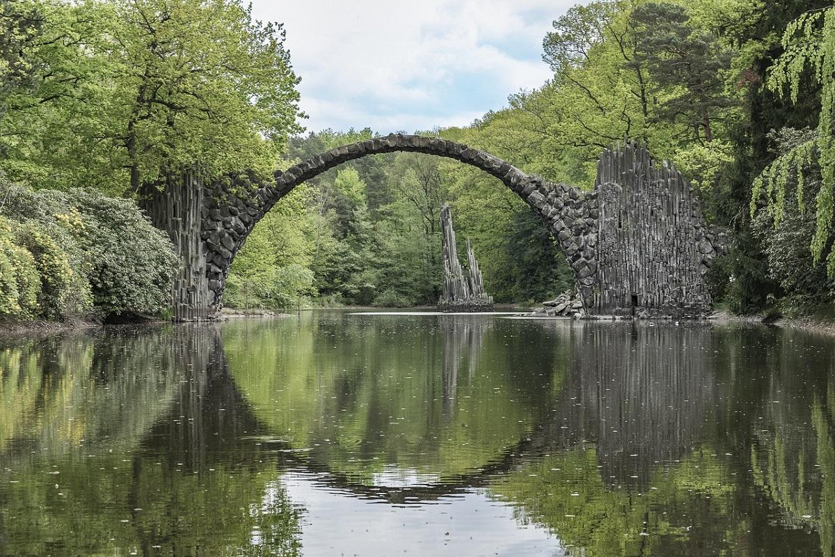 Parco dei Rododendri Kromlau Germania