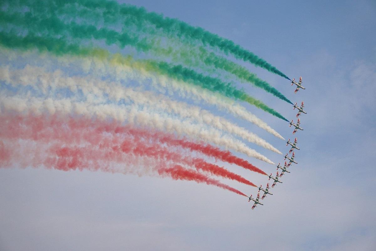 Frecce Tricolori 2021 dove vederle