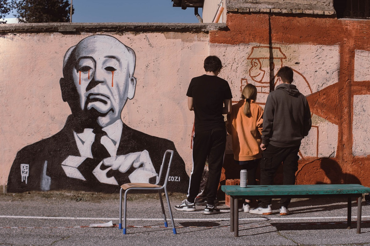 Cantieri San Paolo Roma street art