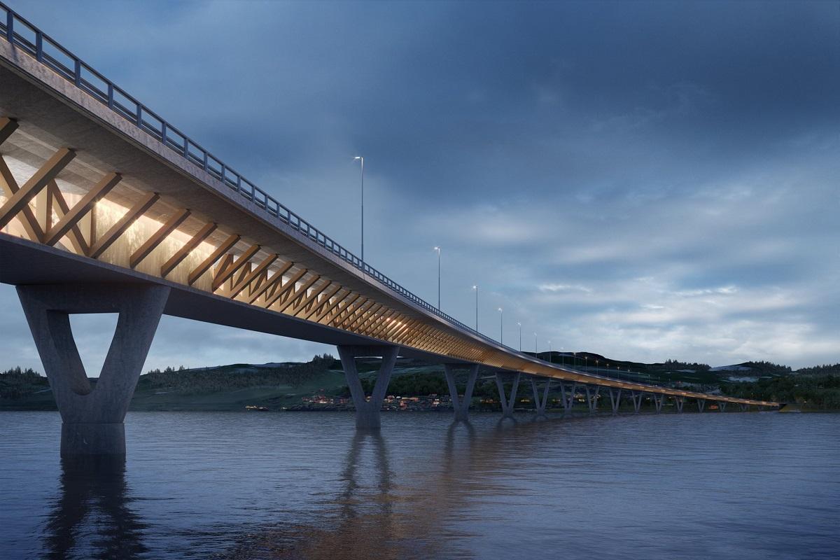 Ponte di legno più lungo del mondo