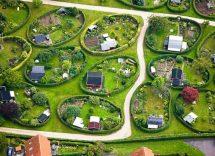 Giardini ovali quartiere Naerum Copenaghen