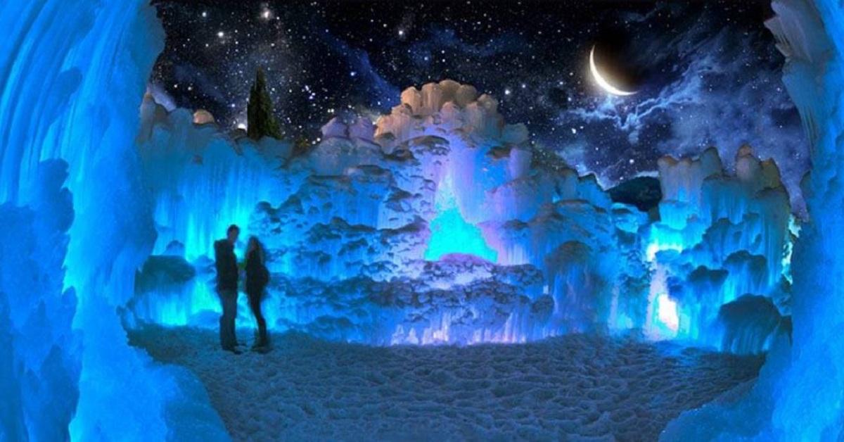 castello di ghiaccio di edmonton