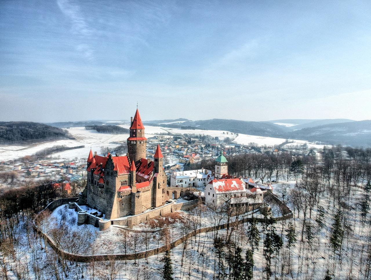 repubblica ceca castelli