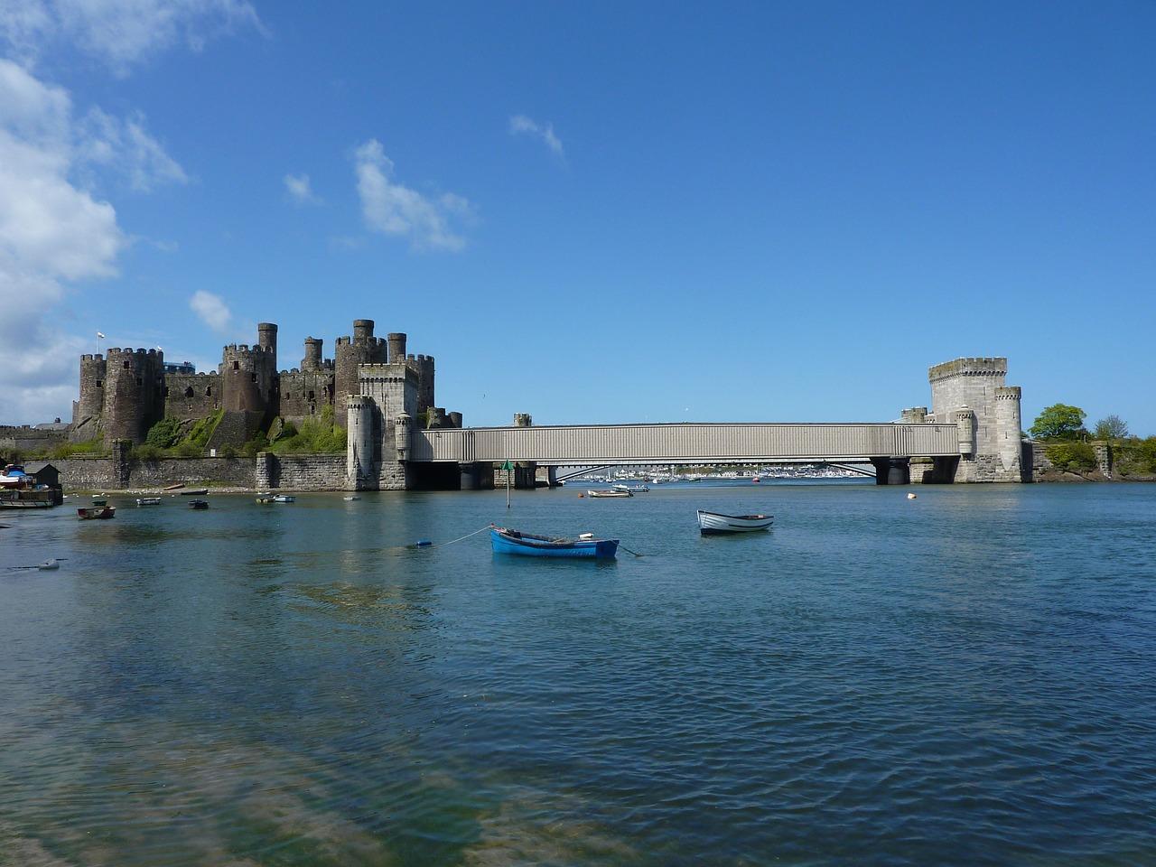 I più bei castelli del Galles