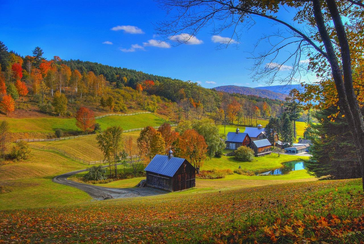 piccole città del Vermont
