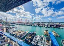 Salone nautico a Genova tutta in feste