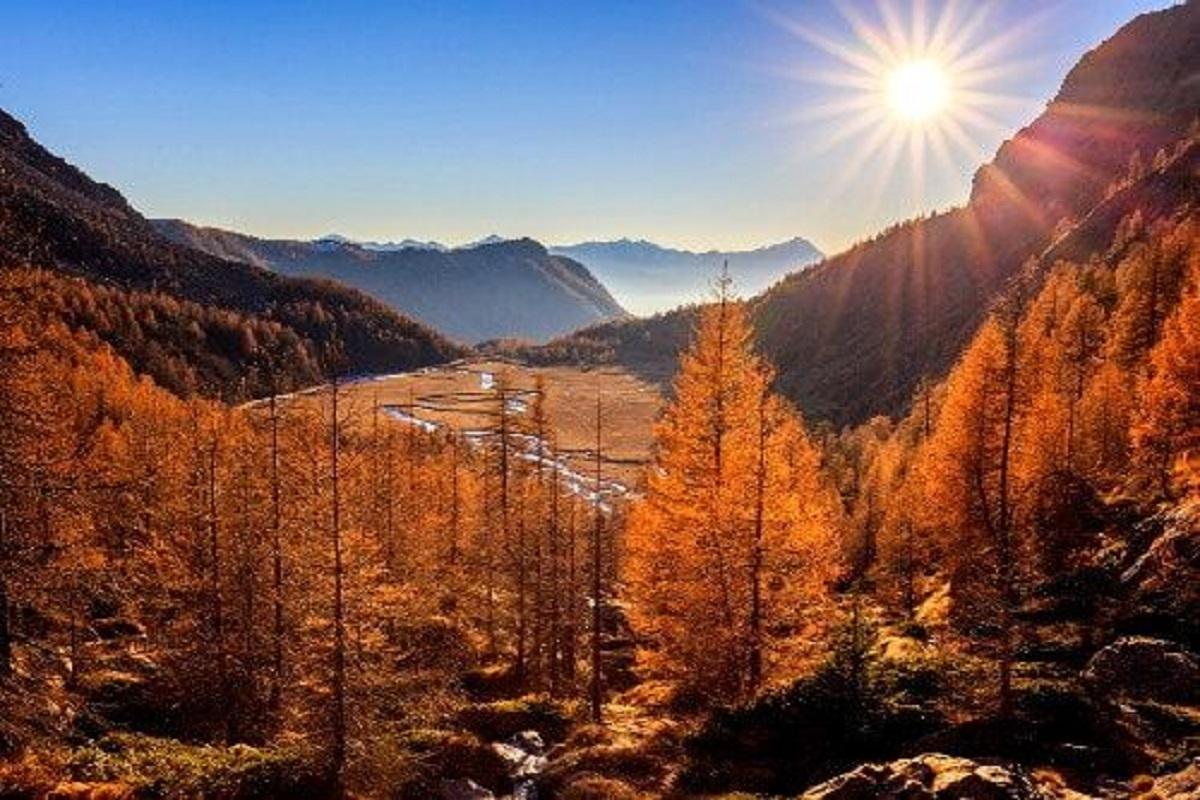 la meraviglia della natura in autunno