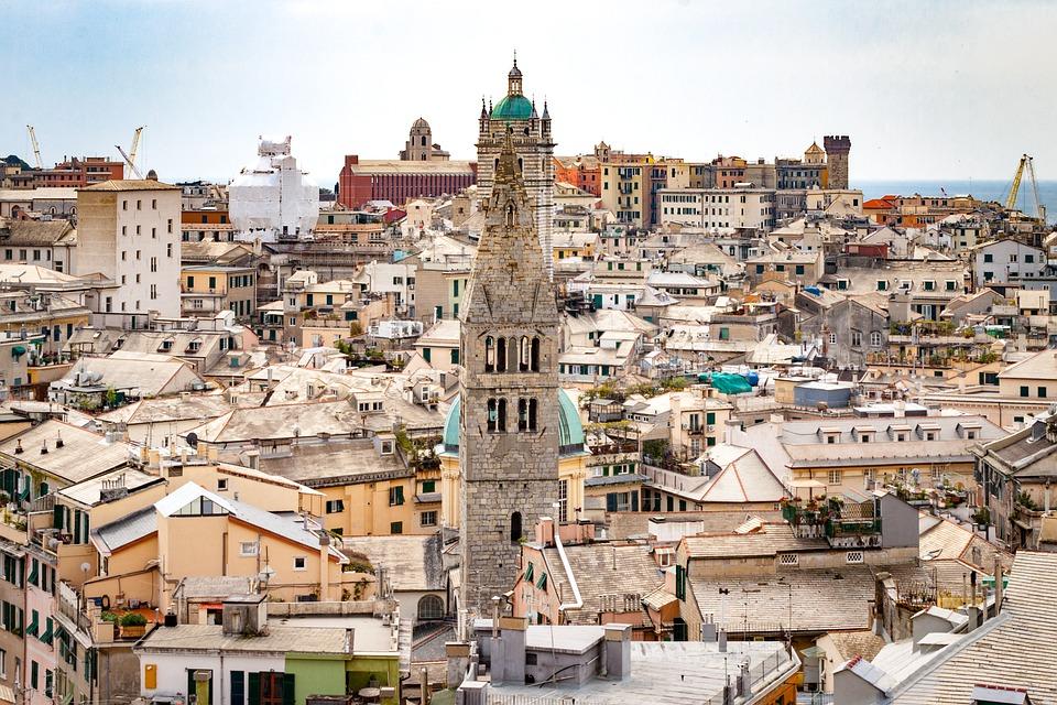 Genova in un giorno: la città dall'alto