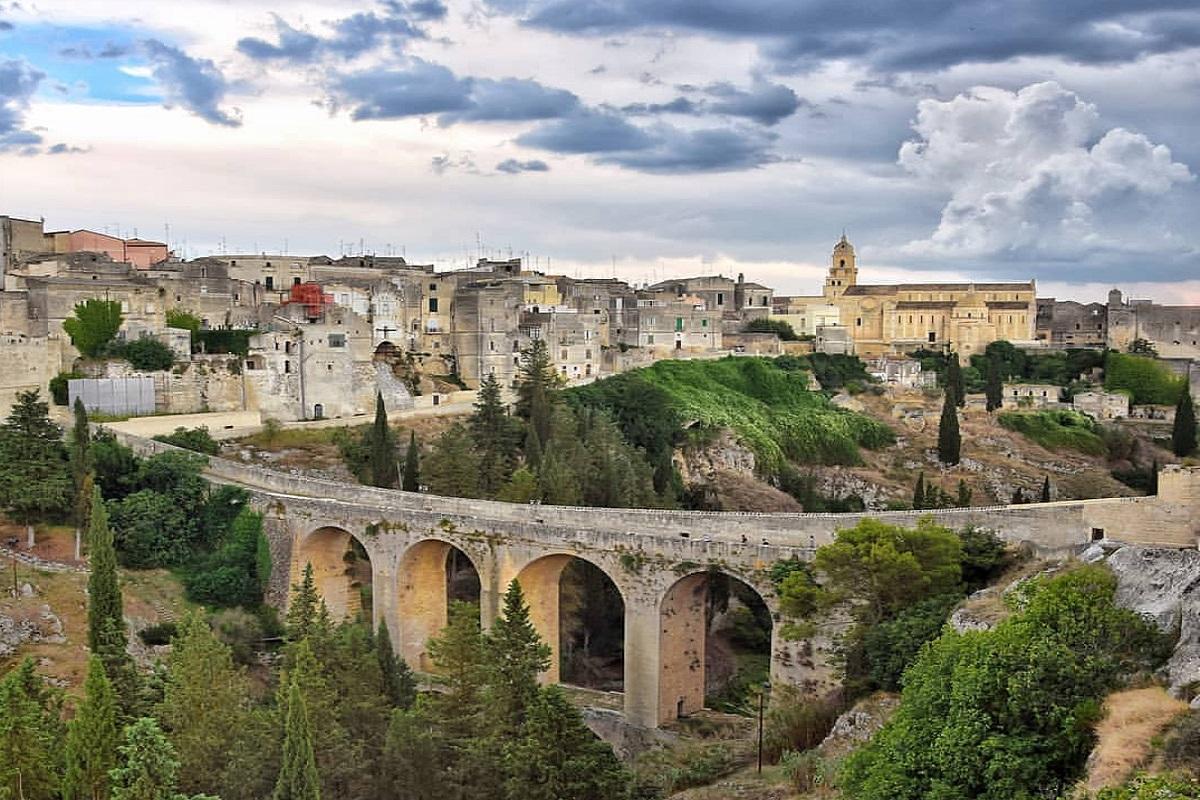 Ponte Acquedotto di Gravina di Puglia: la storia