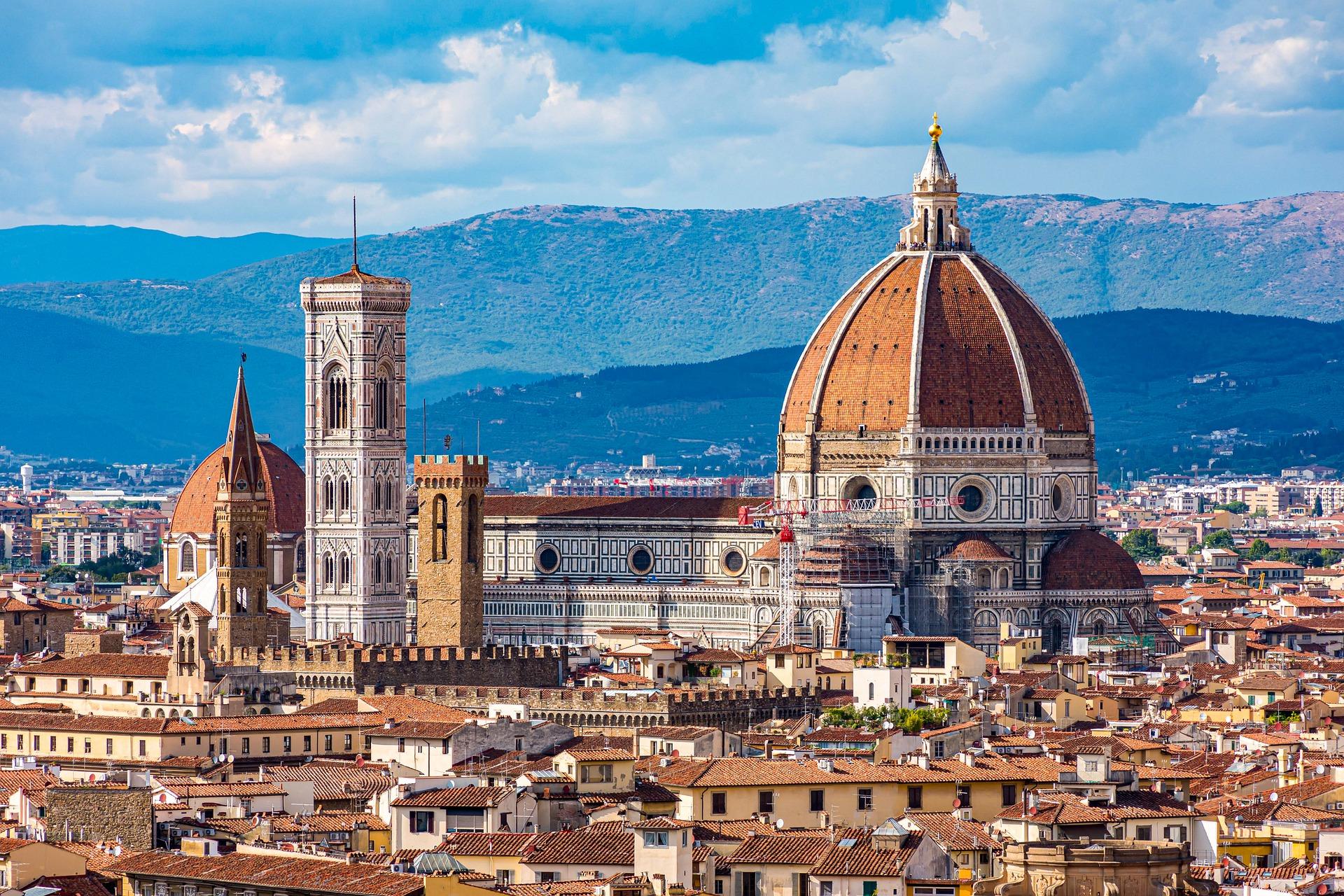 Vista della città di Firenze