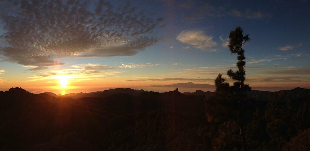 Panorama dal Pico de las Nieves Gran Canaria