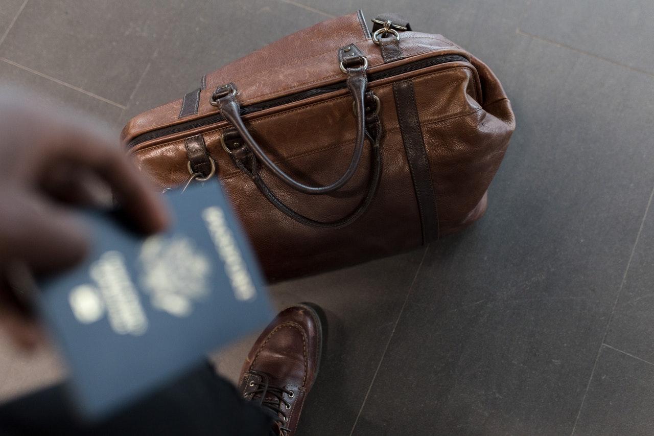 Passaporto in viaggio
