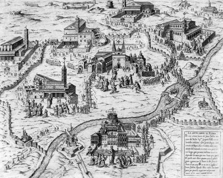 Tour basiliche sette chiese giubilari Roma