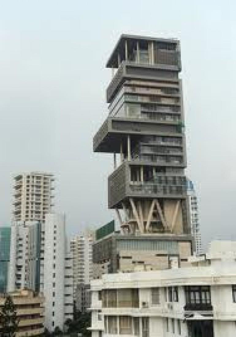 La casa pi costosa al mondo antilla mumbai viaggiamo - La casa piu bella al mondo ...