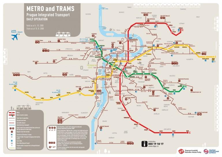 Quali sono orari apertura metro Praga
