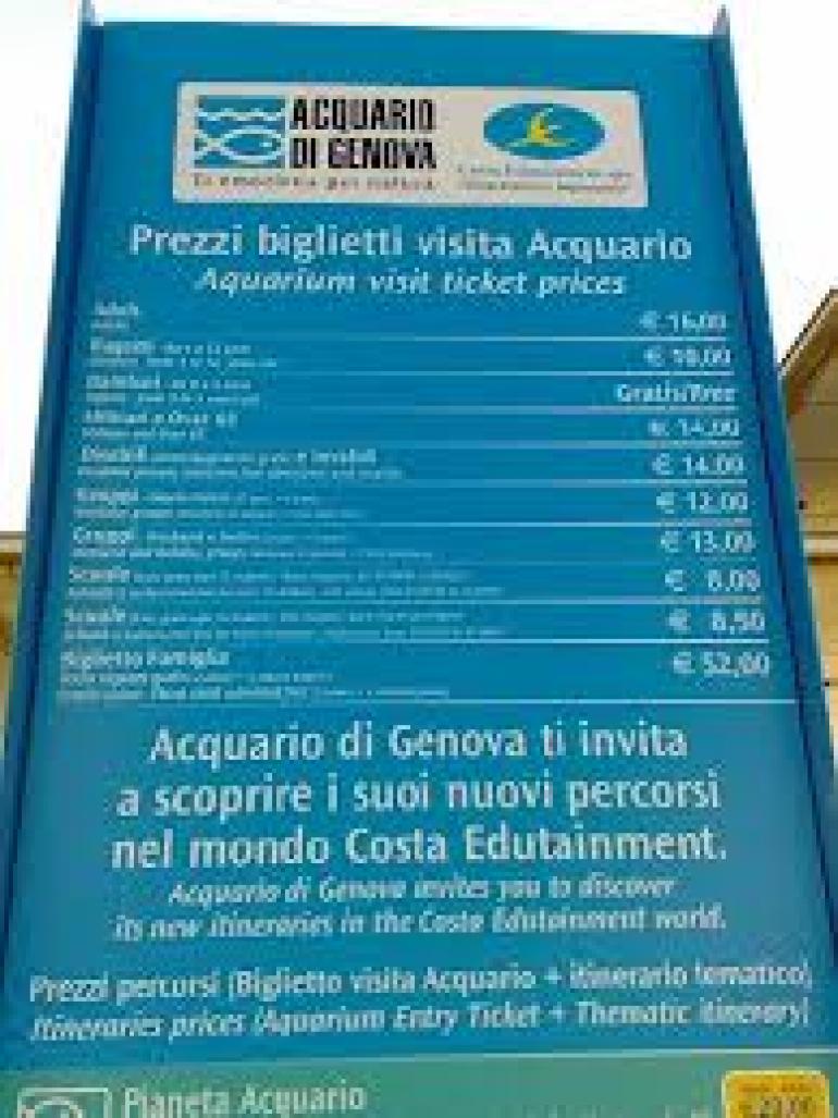 acquario di genova orari prezzi: acquario di genova porto antico ... - Acquario Di Genova Orari Biglietteria